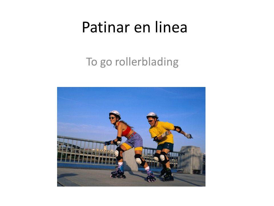 Patinar en linea To go rollerblading