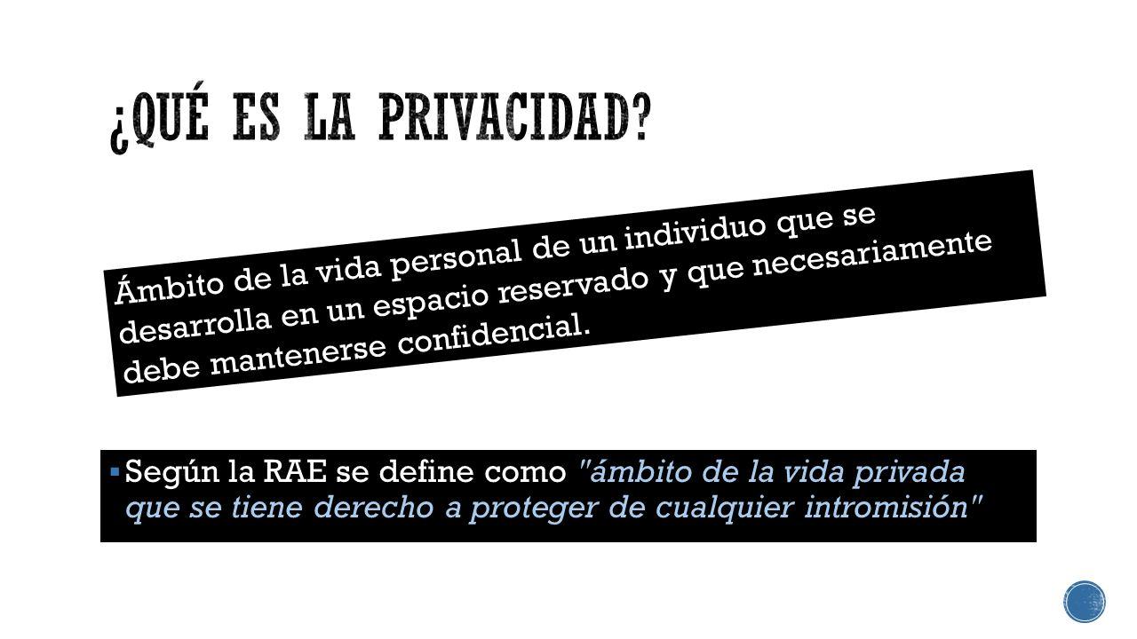 Protege el derecho a la intimidad plasmado en el artículo 12 de la Declaración Universal de los Derechos Humanos que a la letra dice: Protege nuestra integridad física y moral.