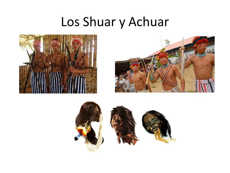 Los Shuar y Achuar