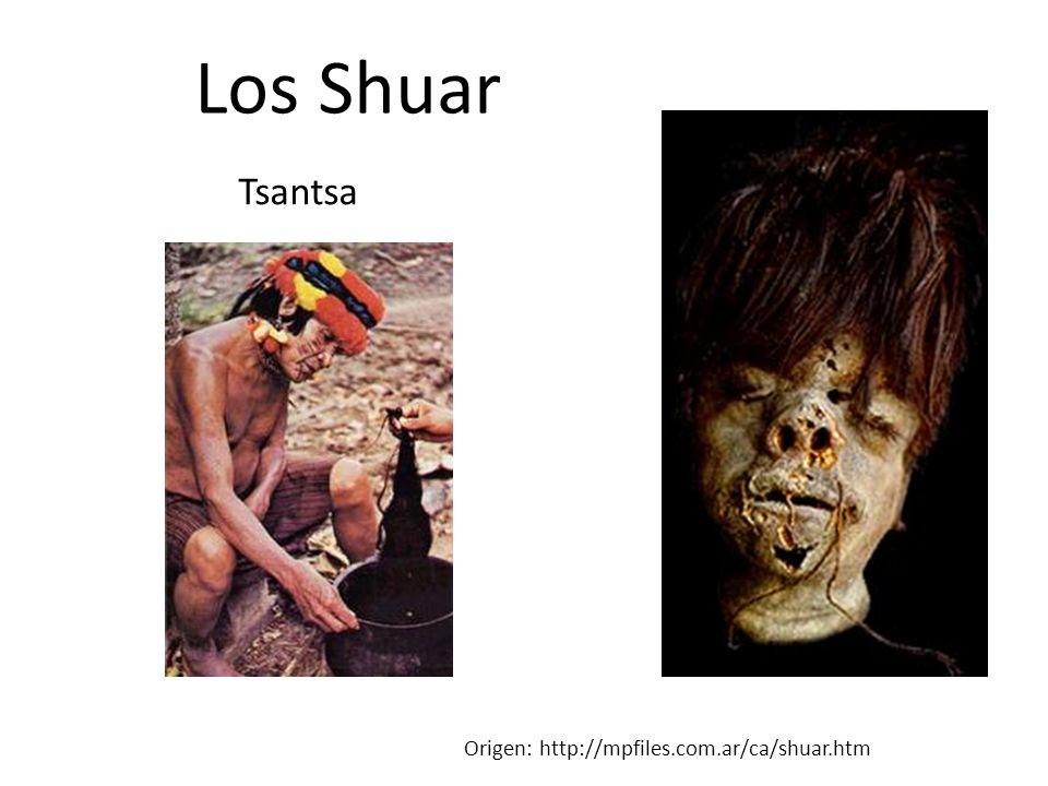 Los Shuar Origen: http://mpfiles.com.ar/ca/shuar.htm Tsantsa