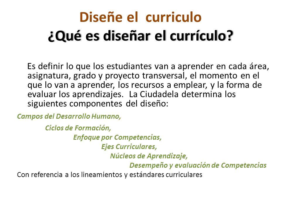 ¿Qué es diseñar el currículo. Diseñe el curriculo ¿Qué es diseñar el currículo.
