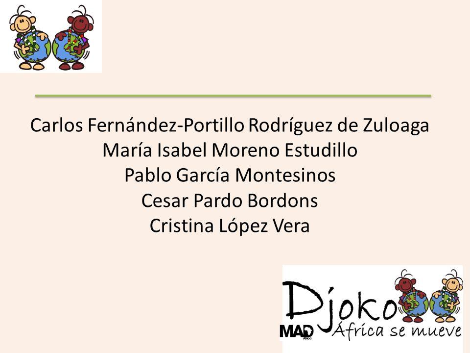 Carlos Fernández-Portillo Rodríguez de Zuloaga María Isabel Moreno Estudillo Pablo García Montesinos Cesar Pardo Bordons Cristina López Vera