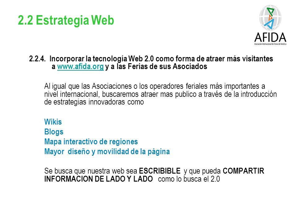 2.2 Estrategia Web 2.2.4.