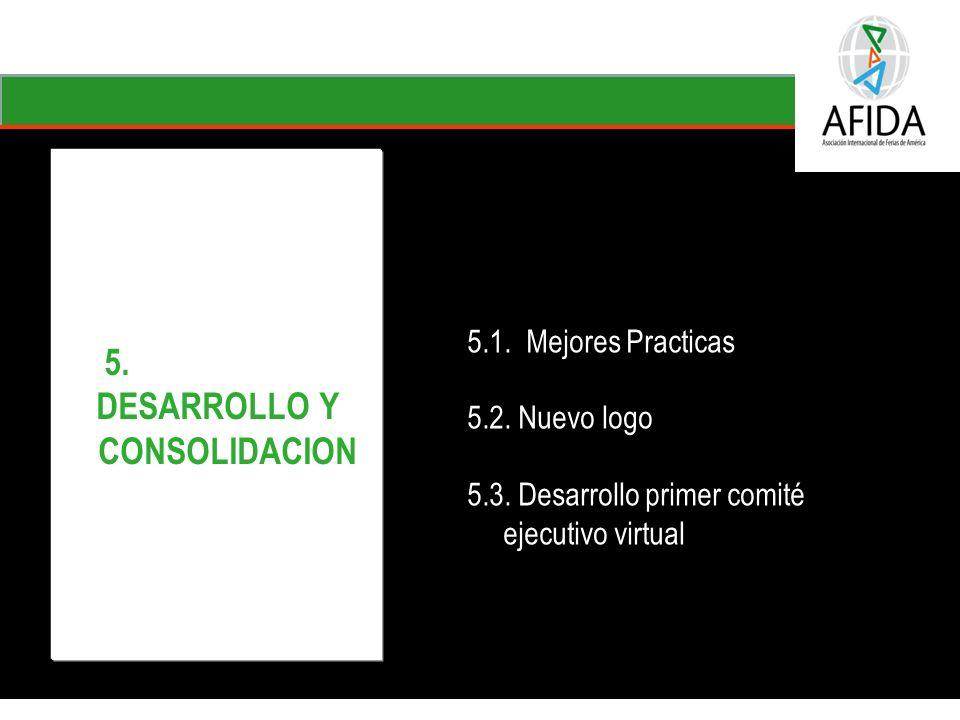 Perspectiva Del cliente PC2 – Apoyar el desarrollo de mercados consolidándose como un operador ferial profesional de alcance regional e internacional Internacionalización de las ferias de la entidad Oferta integral de mercadeo para las empresas - Alianza con la CCB 5.
