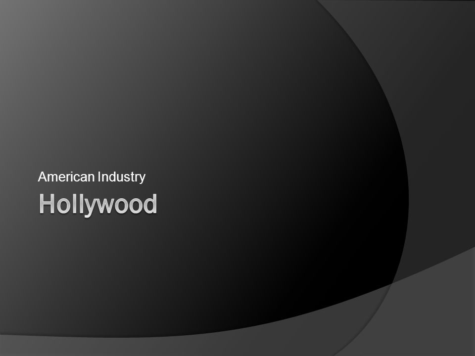 American Industry