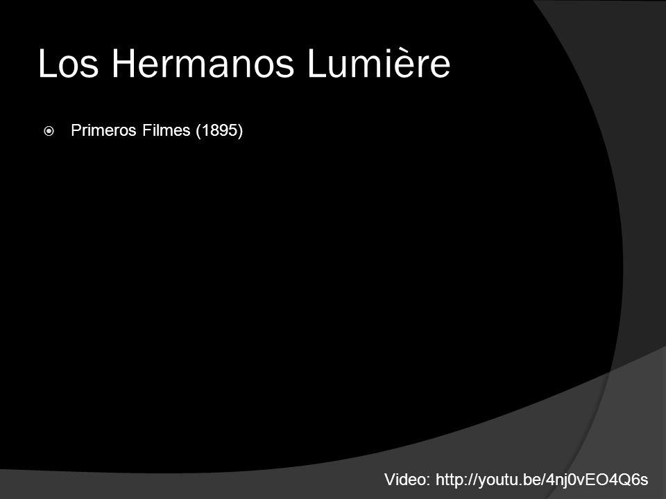Los Hermanos Lumière Primeros Filmes (1895) Video: http://youtu.be/4nj0vEO4Q6s