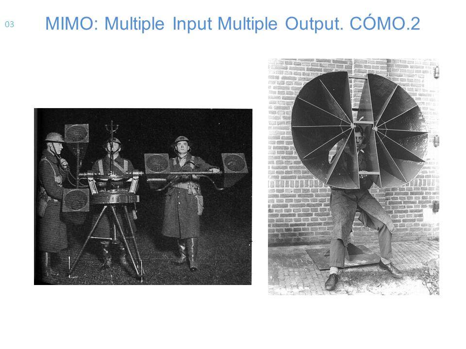 MIMO Es un sistema que utiliza m ú ltiples antenas en el transmisor y en el receptor.