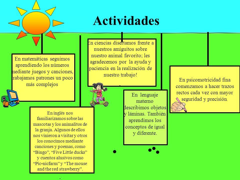 Actividades En psicomotricidad fina comenzamos a hacer trazos rectos cada vez con mayor seguridad y precisión.