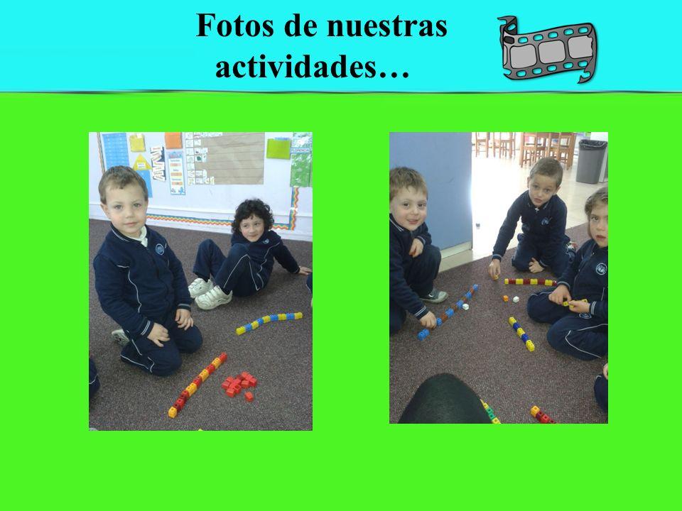 Fotos de nuestras actividades…
