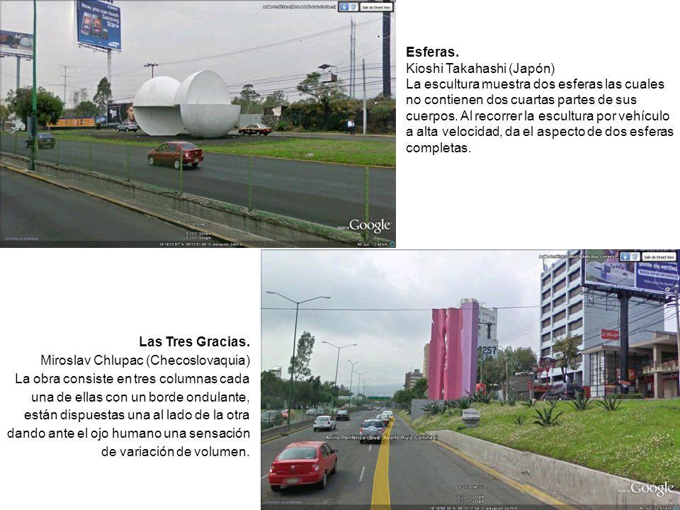 FOTOS REALES DE LAS ESCULTURAS Zegbe Carlos Andrés Órnelas Rocha Los foto-montajes realizados en el 2o.