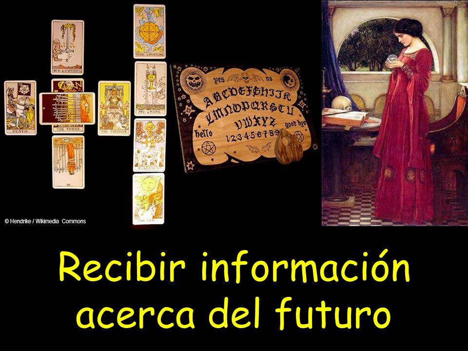 Recibir información acerca del futuro