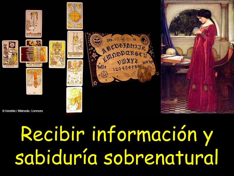 Recibir información y sabiduría sobrenatural
