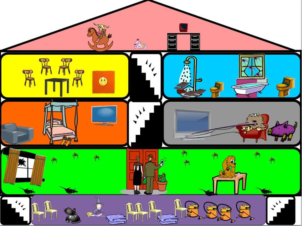 Topic – Lost property… Use the eight squares to draw the item that each person has lost 1.He perdido mi reloj – es un reloj digital y es verde.