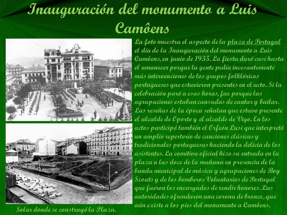 Castrelos fue cedido a Vigo en 1.925 El doce de diciembre de 1925 en la Embajada de España en Paris, se firmó la escritura de cesión del Pazo y parque