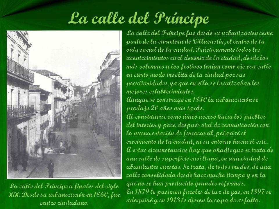 Recibimiento al rey Alfonso XIII El Primer día de estancia en Vigo, visitaron también el pazo de Castrelos y el Casino, Sociedad que residía en el ant