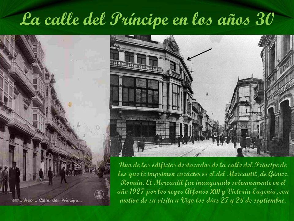 La calle del Príncipe en los años 20 Esta es la calle del Príncipe en los años 20 vista desde el balcón del antiguo Palacio de Justicia hoy el museo M