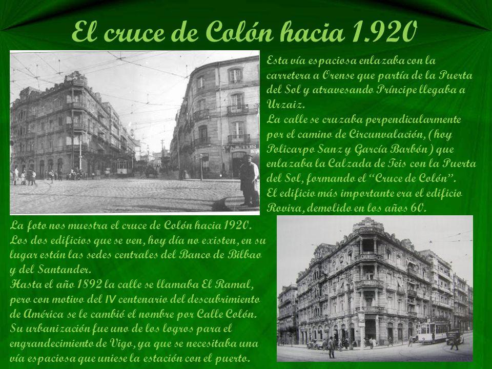 La calle del Príncipe en los años 30 Uno de los edificios destacados de la calle del Príncipe de los que le imprimen carácter es el del Mercantil, de