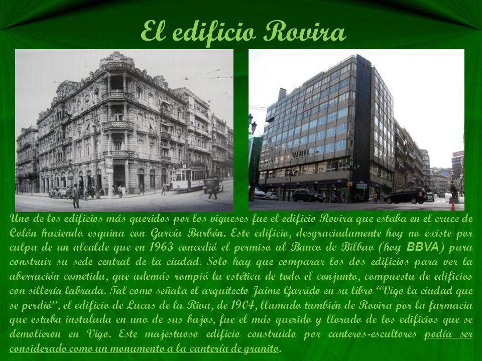 Instituto Santa Irene Este instituto fue hecho a la memoria de la mujer de Policarpo Sanz, que donó toda su herencia a Vigo y pidió que se tenía que h