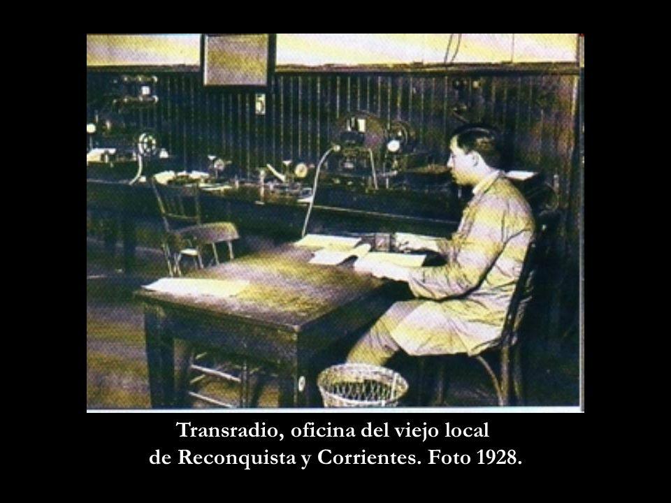 Sala de Conmutadores de la Unión Telefónica.