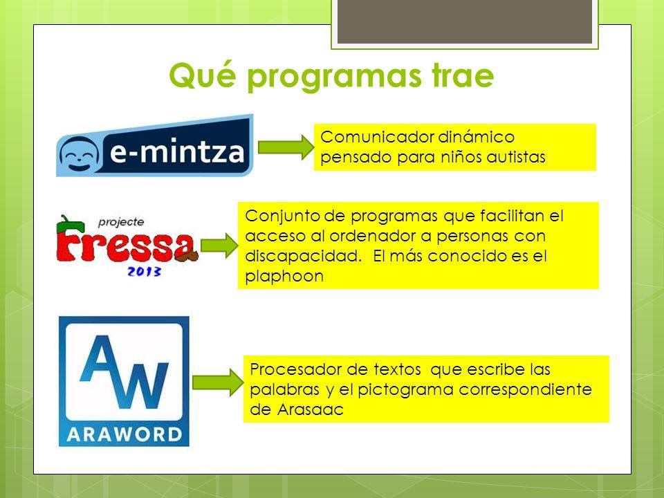 Otros recursos y proyectos Senswitcher: http://centros6.pntic.mec.es/cpee.alborada/senswitcher.htm http://centros6.pntic.mec.es/cpee.alborada/senswitcher.htm EVO: http://educacion.once.es/home.cfm?id=229&nivel=2&orden=2http://educacion.once.es/home.cfm?id=229&nivel=2&orden=2 Proyecto Comunica: http://www.vocaliza.es/http://www.vocaliza.es/ Proyecto Azahar: http://www.proyectoazahar.org/azahar/loggined.do http://www.proyectoazahar.org/azahar/loggined.do Arasaac: http://www.catedu.es/arasaac/catalogos.php http://www.catedu.es/arasaac/catalogos.php Proyecto Albor: http://www.educa2.madrid.org/web/alborhttp://www.educa2.madrid.org/web/albor Proyecto Agrega: http://www.proyectoagrega.es/default/home.php http://www.proyectoagrega.es/default/home.php PARA LA ESTIMULACIÓN MULTISENSORIAL PARA LA COMUNICACIÓN PARA ACCEDER AL ORDENADOR Y TRABAJAR EL CURRÍCULO