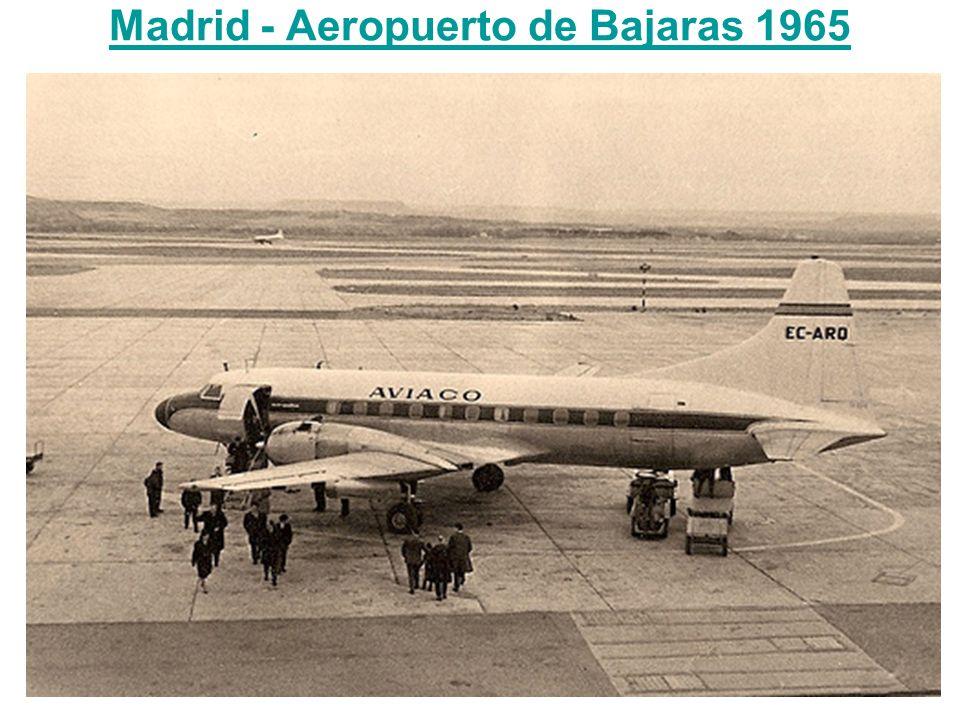 Madrid - Aeropuerto de Bajaras 1965