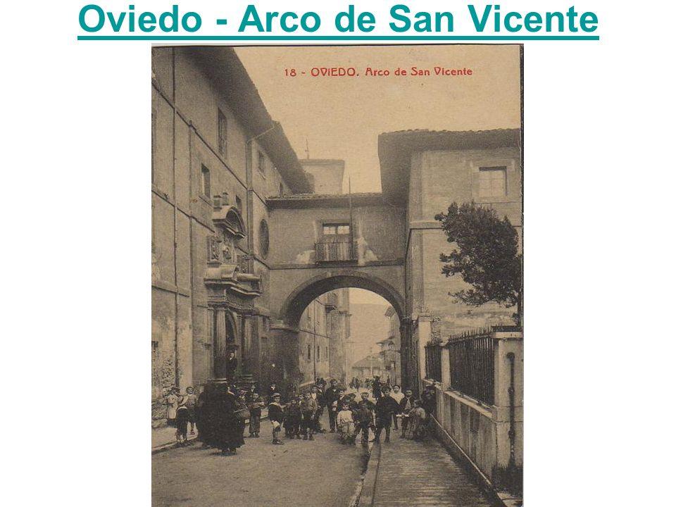 Oviedo - Arco de San Vicente