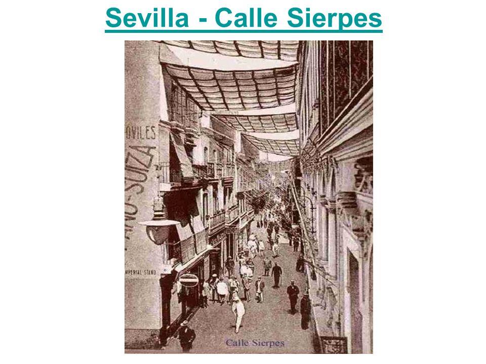 Sevilla - Calle Sierpes