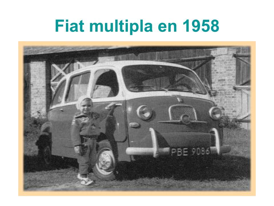 Fiat multipla en 1958