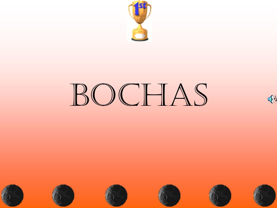 bochas