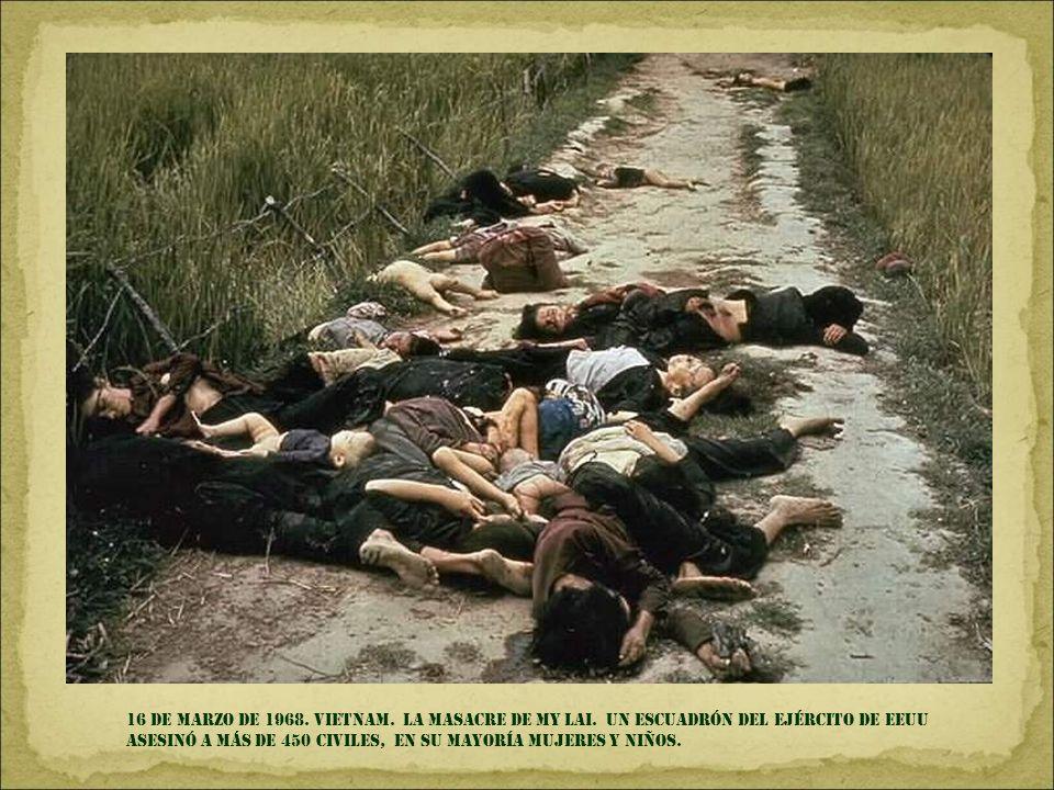 9 DE OCTUBRE DE 1967. La higuera, BOLIVIA. el CHE GUEVARA ES ASESINADO por el ejército boliviano DESPUÉS DE INTENTAR FORMAR UN FOCO GUERRILLERO.