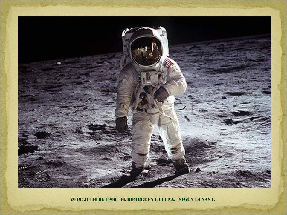 24 de diciembre de 1968. primera foto de la tierra sobre el horizonte lunar. TOMADA DESDE EL APOLLO 8