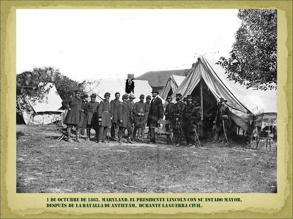 1 DE OCTUBRE DE 1862.MARYLAND.