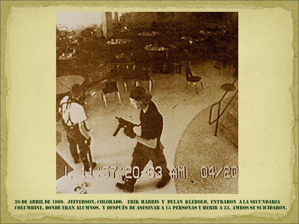 1 DE ENERO DE 1994. Chiapas, México. Levantamiento armado del ejército zapatista de liberación nacional. Yo tuve la culpa porque la noche del año viej