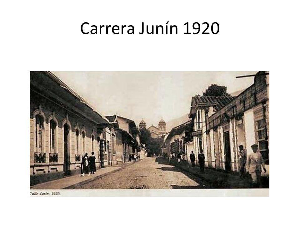 Carrera Junín 1920