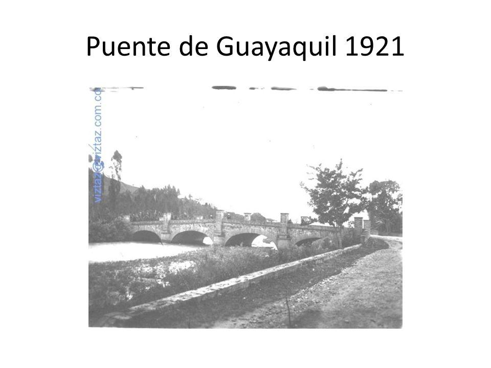 Puente de Guayaquil 1921