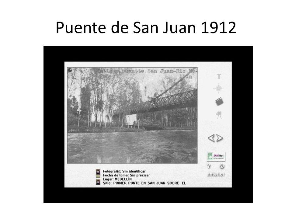 Puente de San Juan 1912