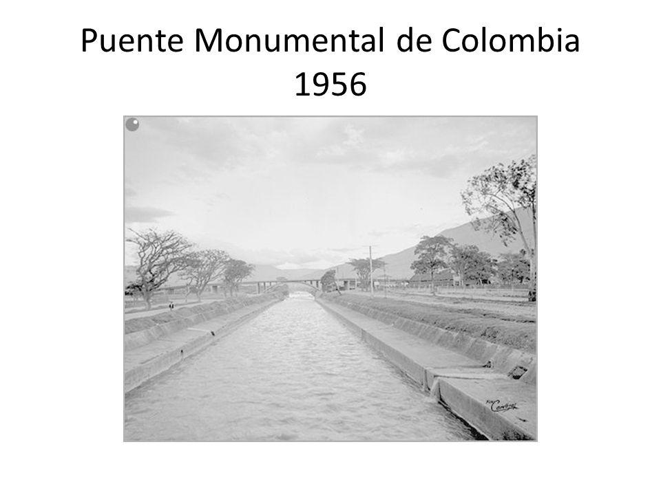 Puente Monumental de Colombia 1956