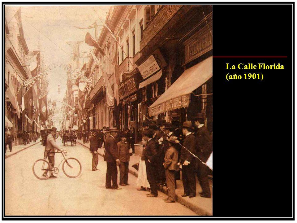 La barquilla del Pampero (1908) Foto tomada en Belgrano, ese mismo año el globo se perdio en el mar
