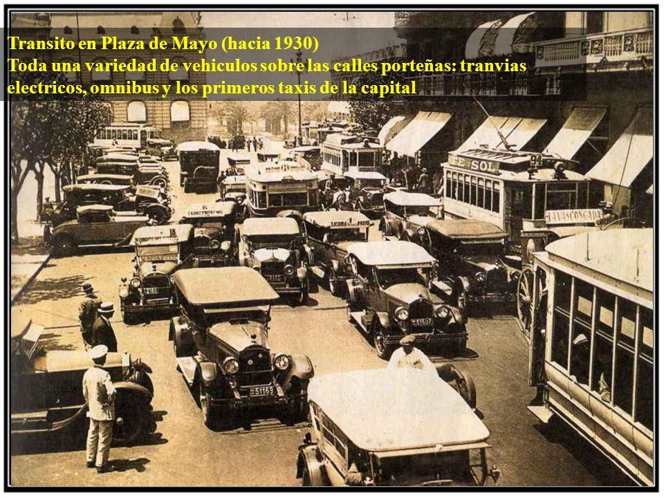 Primeros años (1936) El presidente Agustin P Justo inauguro el Obelisco el 23 de mayo de 1936