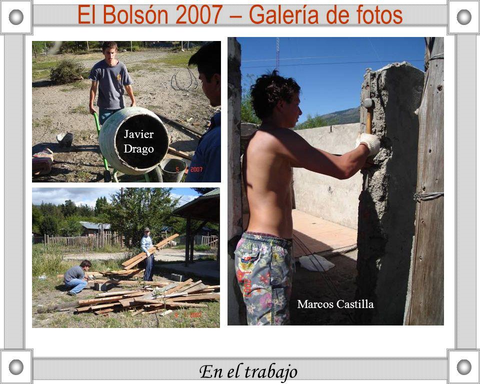 En el trabajo El Bolsón 2007 – Galería de fotos Marcos Castilla Javier Drago