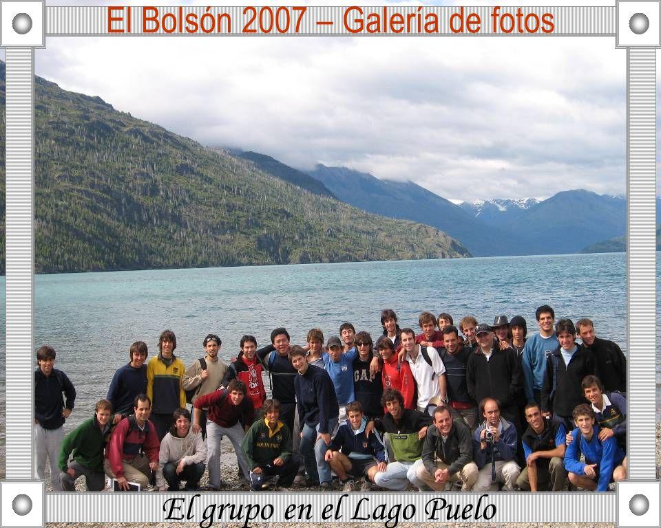 El Bolsón 2007 – Galería de fotos El grupo en el Lago Puelo