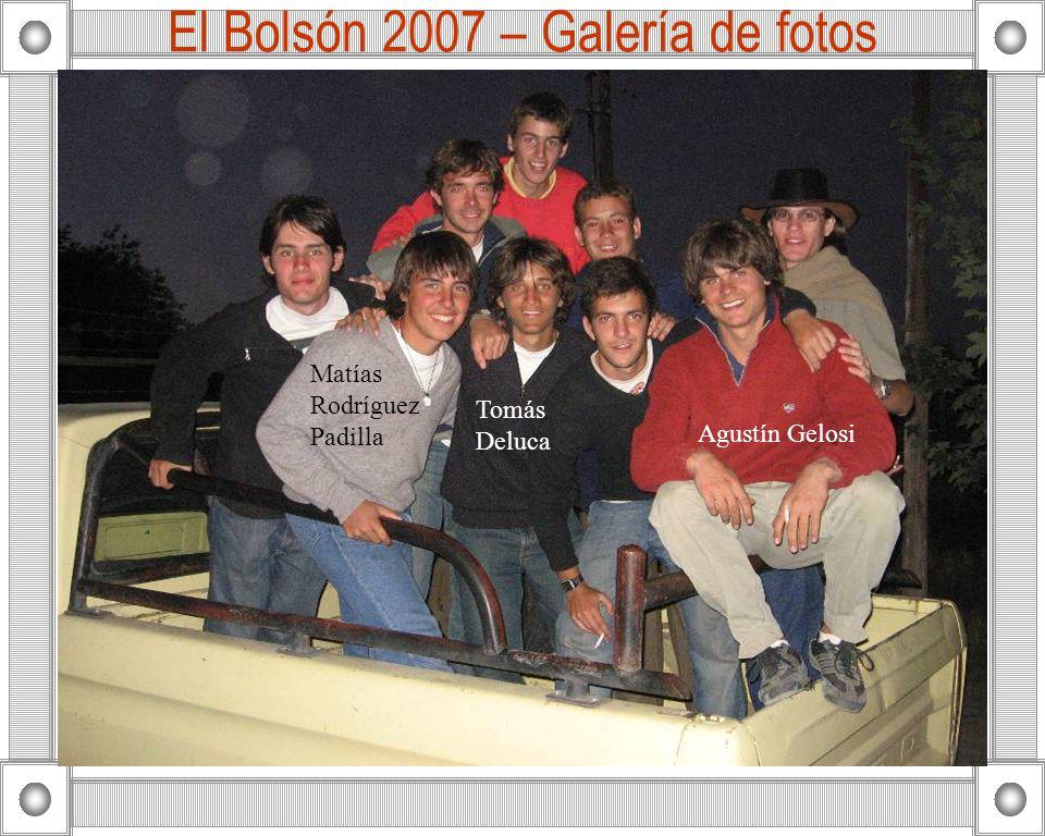 El Bolsón 2007 – Galería de fotos Agustín Gelosi Matías Rodríguez Padilla Tomás Deluca