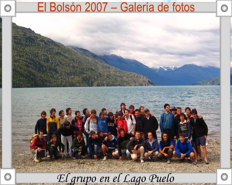 El Bolsón 2007 – Galería de fotos El grupo en la Escuela de Carpintería Norberto Couto Tork Fray Gennaro P.