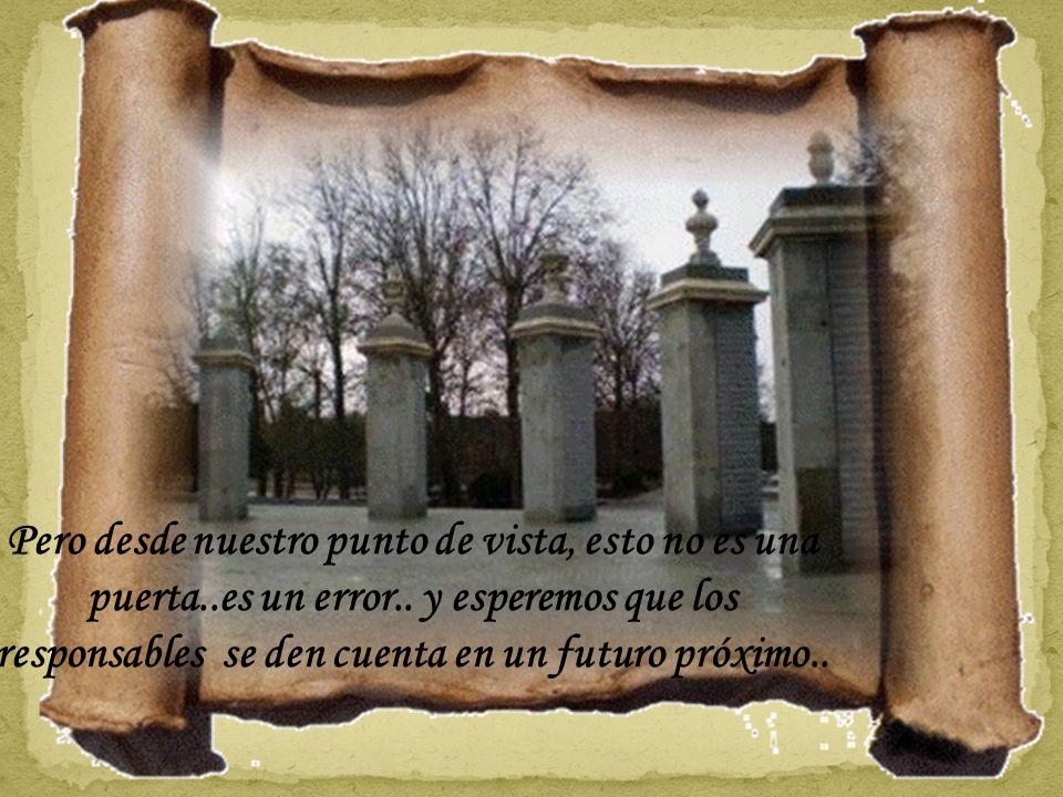 Puerta del Zarzón..