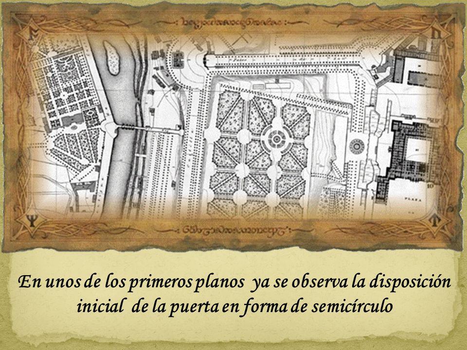 En este primer plano de la C.C. todavía no existía el Puente del Rey y no se intuye ninguna puerta de acceso a l a finca Real Plano de 1656 de Pedro T