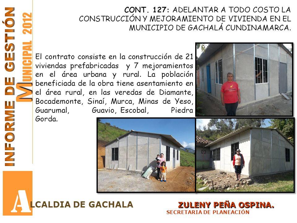 M M UNICIPAL 2012 A ZULENY PEÑA OSPINA.LCALDIA DE GACHALA ZULENY PEÑA OSPINA.