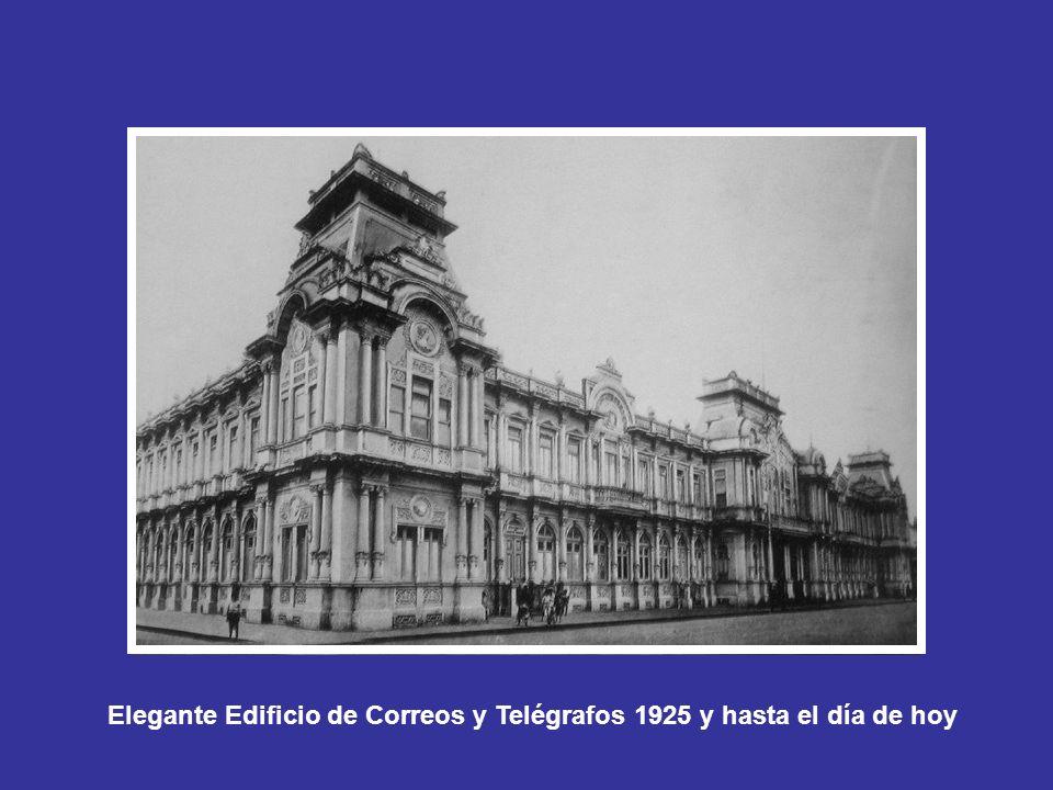 La Hermosa Estación del Atlántico 1908, por muchos años esta fue la conexión al mundo via Puerto Limón. (Hoy Museo de Formas Espacios y Sonidos).