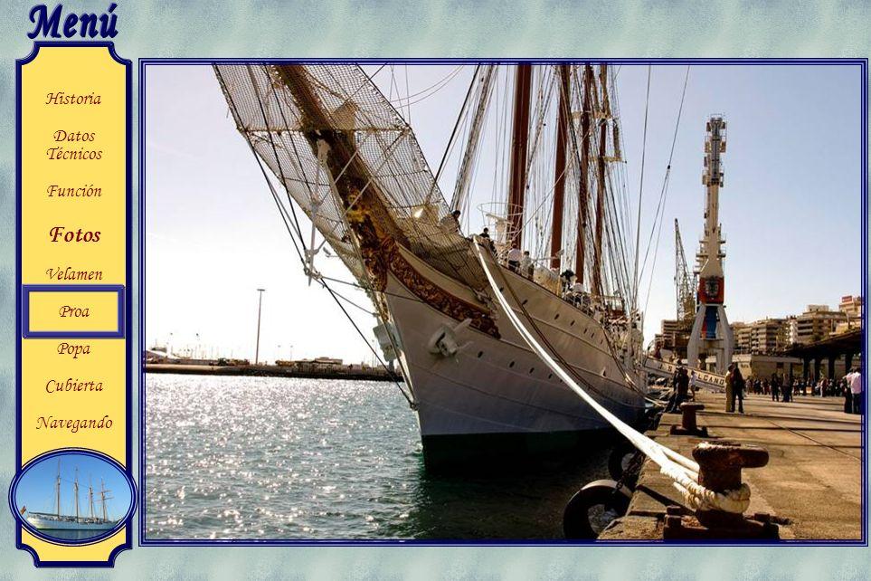 Historia Datos Técnicos Función Fotos Velamen Proa Popa Cubierta Navegando