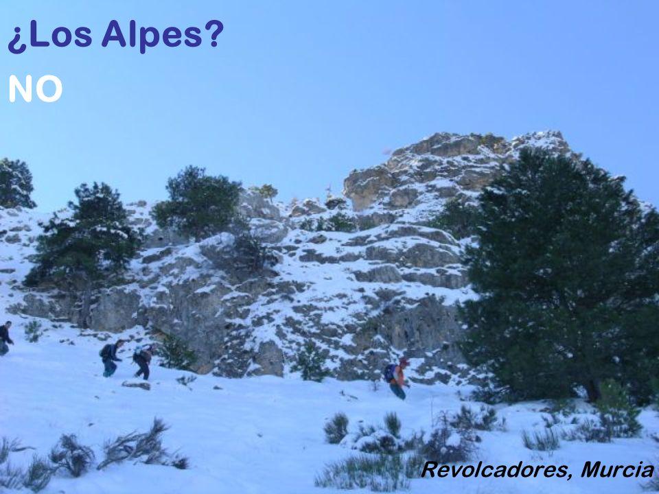 ¿El Valle de Ordesa? Choperas de Yeste, Albacete NO