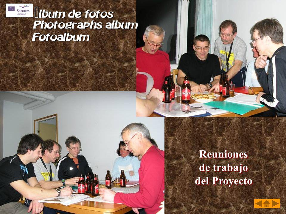 Reuniones de trabajo del Proyecto Reuniones de trabajo del Proyecto